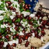 Cous Cous with Pomegranates