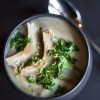 Artichoke and Preserved Lemon Soup