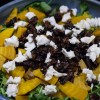Chopped Beets, Candied Pecans and Goat Cheese Salad