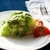 Green Goddess Dressing on a Wedge Salad
