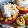 Grilled Nectarines with Ricotta and Amaretti