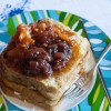 Robiola French Toast with Peach Raspberry Jam