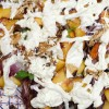 Grilled Radicchio Pickled Nectarine Salad