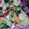 Fava Bean and Orange Bruschetta
