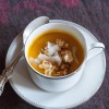 Five Squash Soup and Lime Caramel Corn