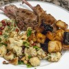 Mint Butter Lamb Chops