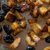 Duckfat Potatoes with Prunes via Jerusalem