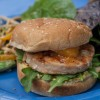 Salmon Burgers with Curry Mayo
