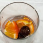 maraschino cherries and oranges for an old fashioned