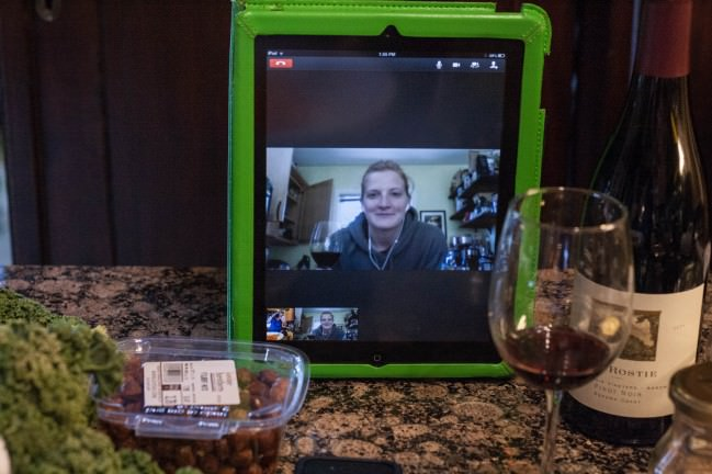 remote cooking via ipad