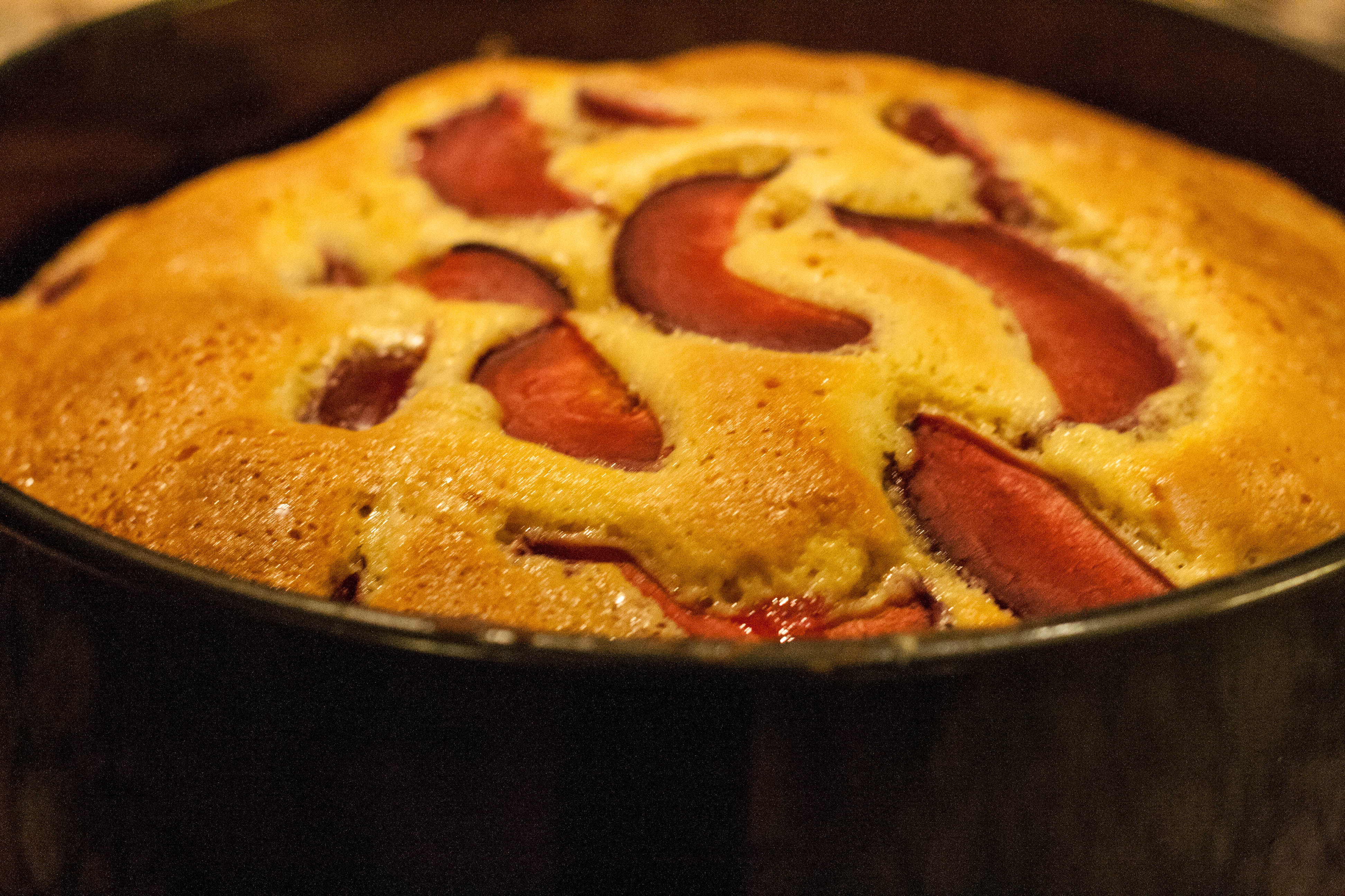 plum almond cake | Dirty Laundry Kitchen
