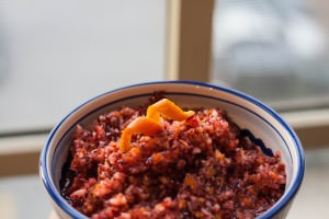 tequila cranberry relish