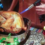 torching the turkey