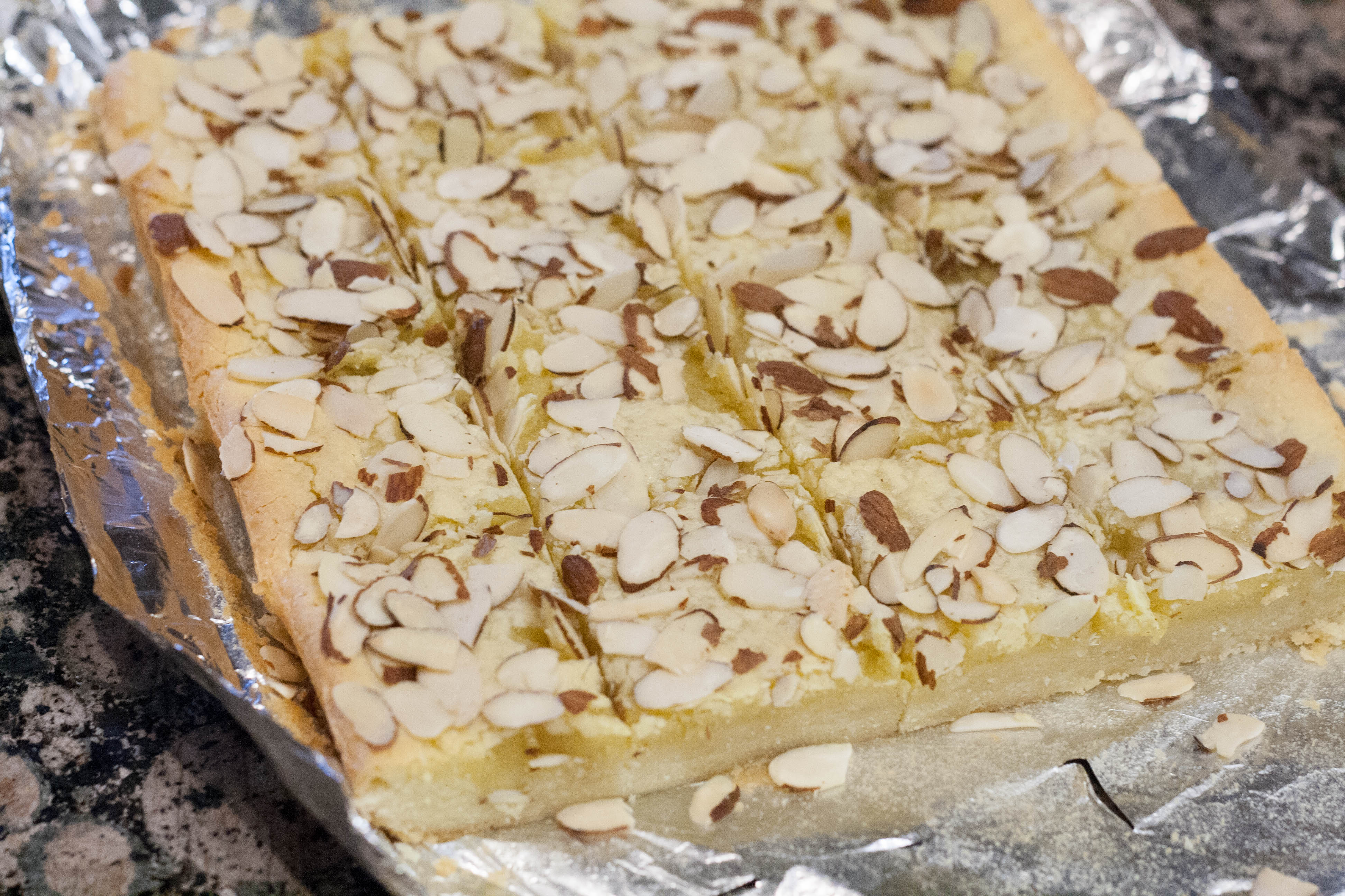 Norwegian Almond Bars