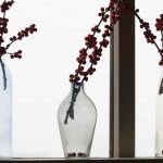 winter vases and a whiteout