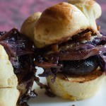 mushrooms sliders