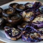 mushrooms sliders cabbage and mushrooms