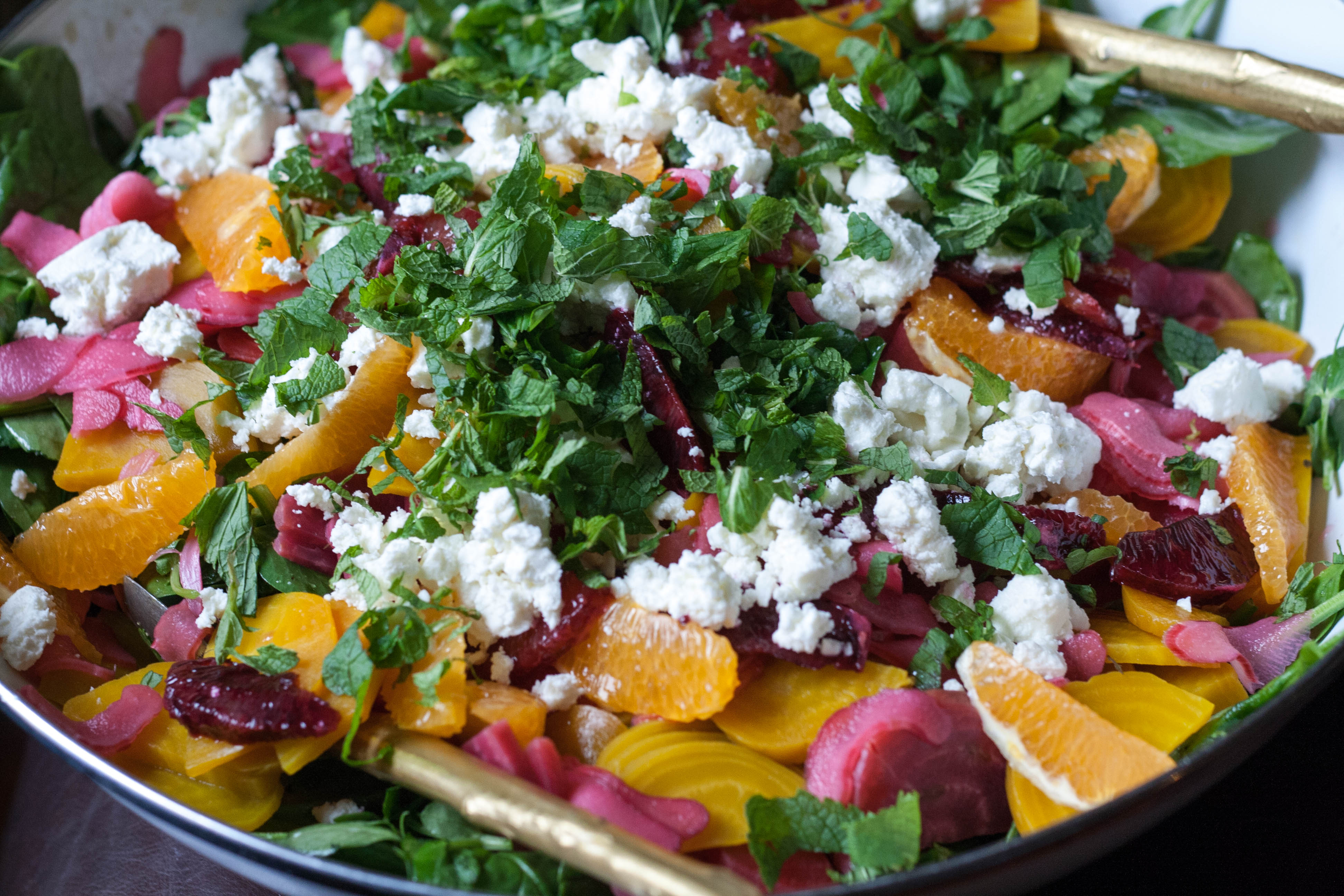 Easter Egg Beet and Citrus Salad