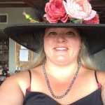Millinery Lesson Pink Roses Derby Hat