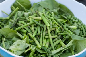 Snappy Green Salad beyond leafy greens