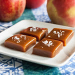 Sour Cherry Apple Cider Caramels for dessert