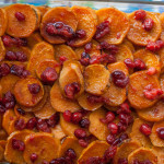 Sweet Potatoes Cranberry Glaze for Thanksgiving