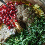 Baba Ganoush via Jerusalem salad