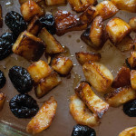Duckfat Potatoes with Prunes