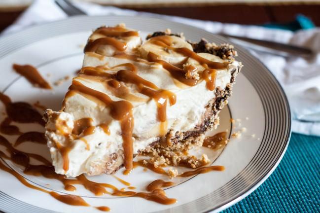Banana Cream Pie with ...